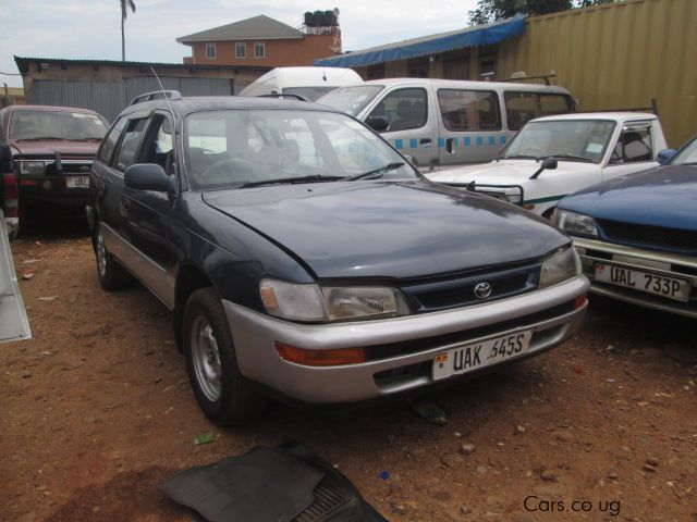 Used Toyota Corolla G Touring 1996 Corolla G Touring For Sale Kampala Toyota Corolla G