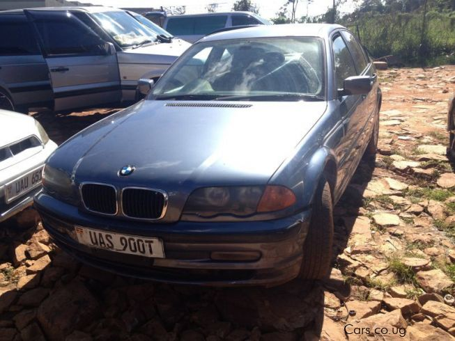 BMW 3 series E46 in Uganda
