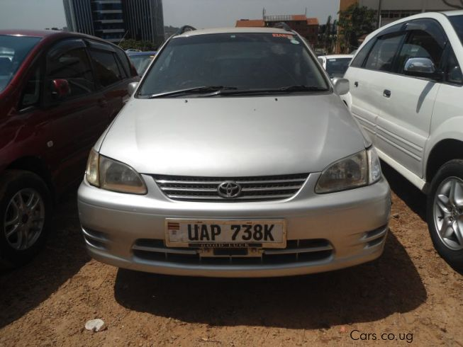 Toyota Spacio in Uganda