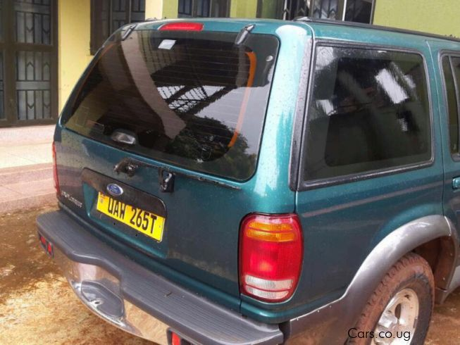 Ford Explorer in Uganda