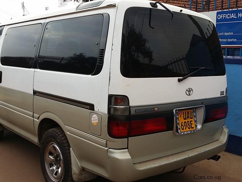Used Toyota Hiace Super Custom