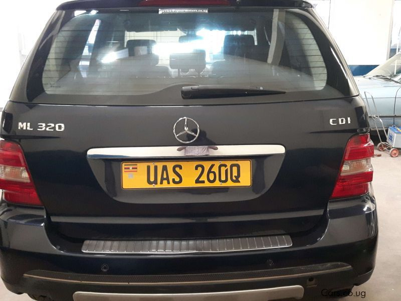 Used mercedes benz ml 320 2006 ml 320 for sale kampala for Mercedes benz salesman requirements