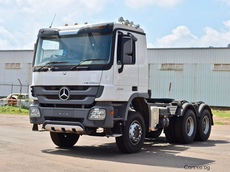 Used mercedes benz actros 3340 semi trailer 2017 for Mercedes benz semi trucks