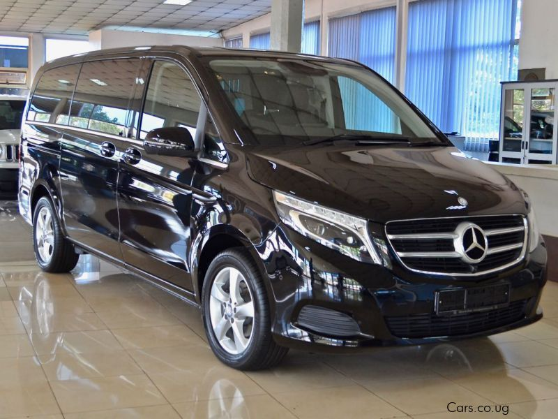 Brand new mercedes benz v220d avantgarde uganda for Mercedes benz brand