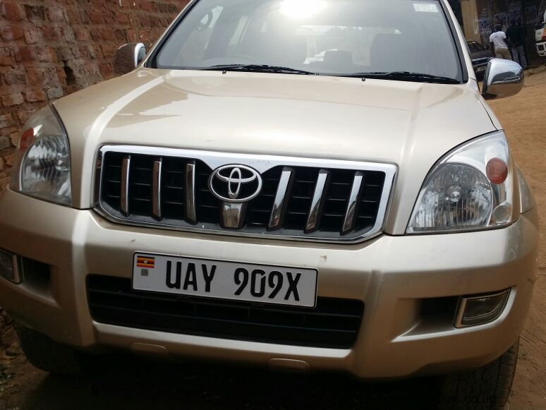Pre-owned Toyota Prado for sale in Kampala