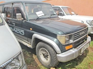 Pre-owned Toyota Prado EX for sale in