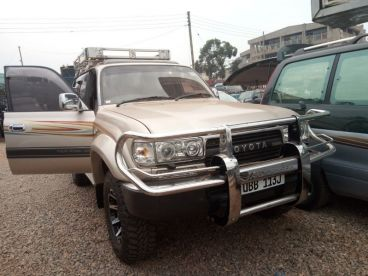 Pre-owned Toyota landcruiser for sale in