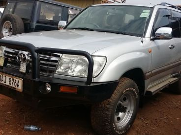 Pre-owned Toyota Landcruiser vx for sale in