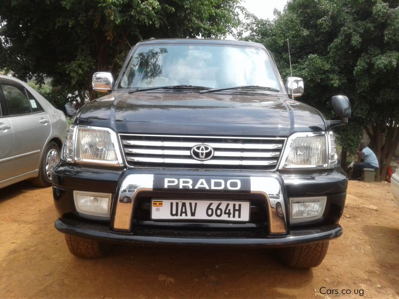 Pre-owned Toyota Land Cruiser Prado for sale in Kampala