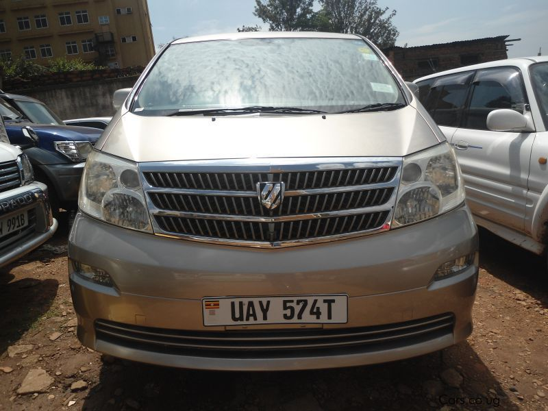 Pre-owned Toyota Alphard for sale in Kampala