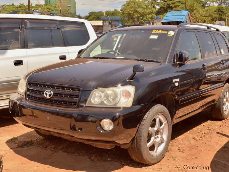 Pre-owned Toyota Kluger for sale in
