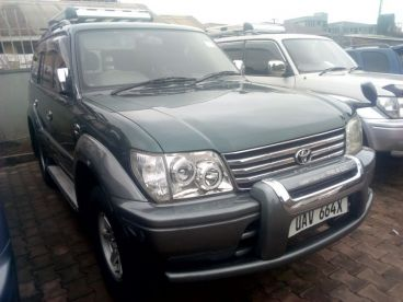 Pre-owned Toyota Land Cruiser Prado TX for sale in