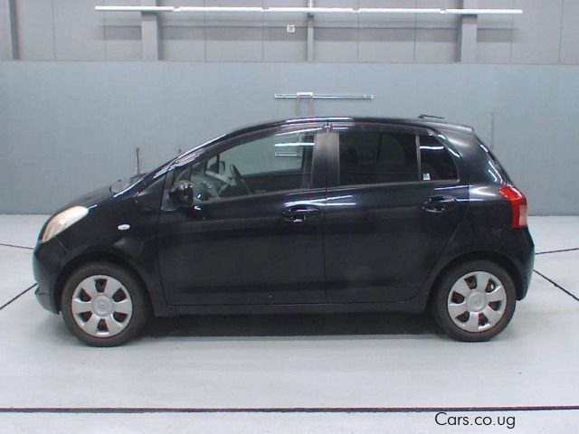 Pre-owned Toyota VITZ Black for sale in