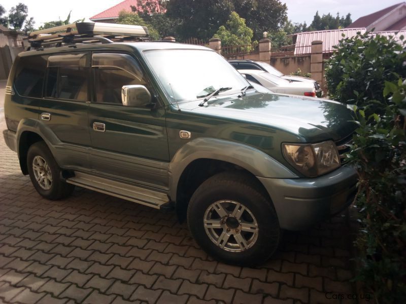 Pre-owned Toyota Land Cruiser TZ for sale in