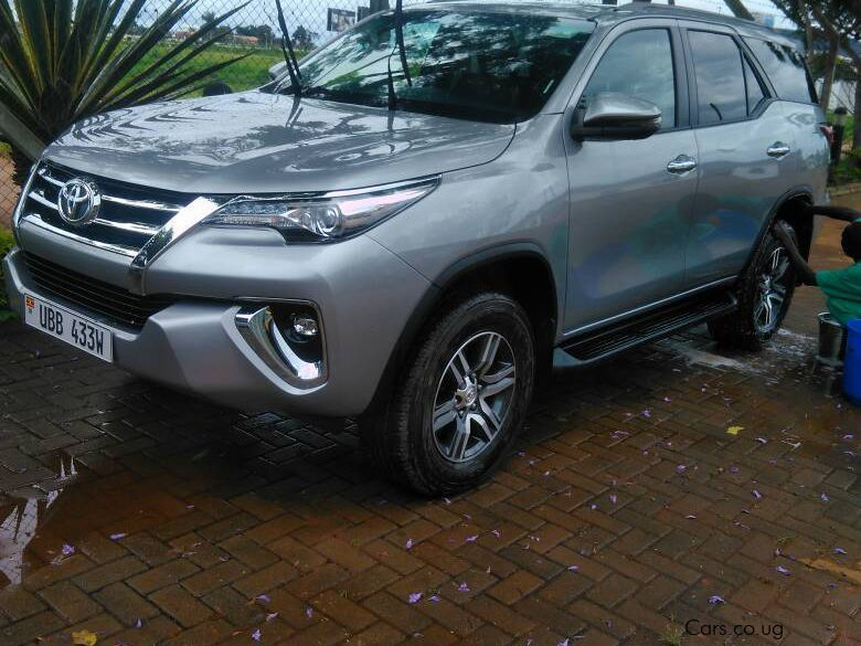 Pre-owned Toyota FORTUNER BRAND NEW for sale in