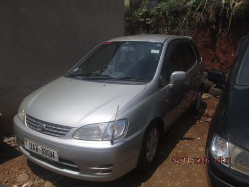 Used Toyota Spacio for sale in Kampala