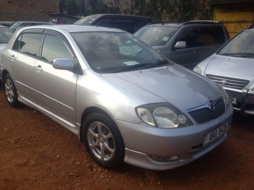 Used Toyota Runx for sale in Kampala