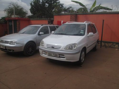 Used Toyota Raum for sale in Kampala