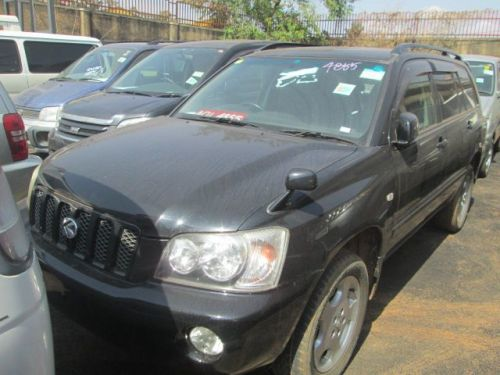 Used Toyota Kluger for sale in Kampala