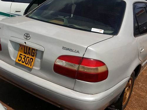 Used Toyota COROLLA 110 for sale in Kampala