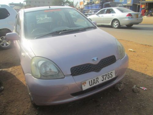 Used Toyota vitz for sale in Mukono