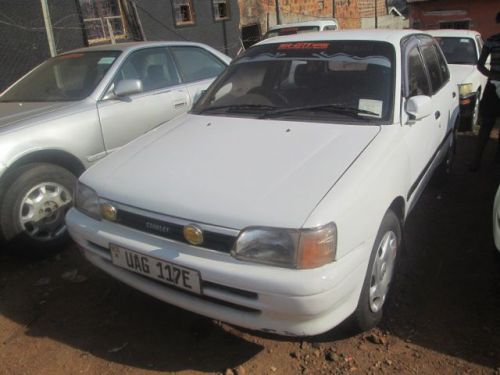 Used Toyota starlet for sale in Mukono