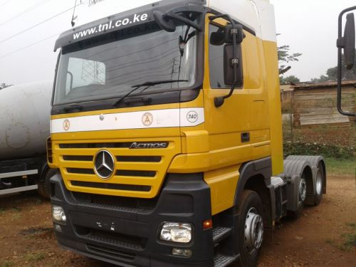 Used Mercedes-Benz Actros for sale in Kampala